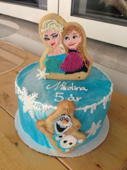 Frozen Cake by Leoness