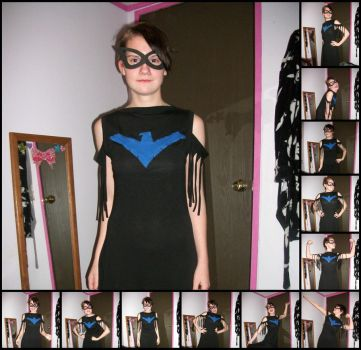 Nightwing Dress by MotherRussia1996