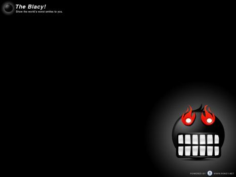 The Blacy Wallpaper 1 by Rokey