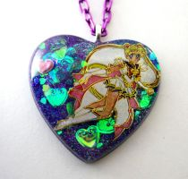 Sailor Moon transformation necklace by Metatronis