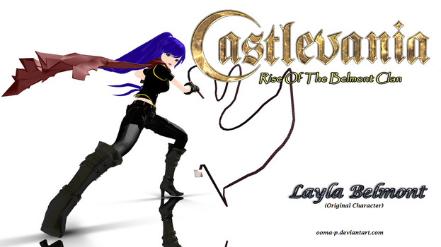 Layla Belmont [Castlevania Fan Made OC] by Ooma-p