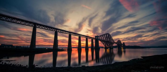 Sunset @ The Bridge by SRussellPhotos