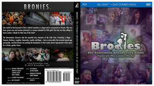 Bronies Documentary Cover Art by OliveBranchMLP
