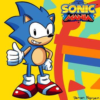 Sonic Mania: A return to form, who is excited!? by thegamingdrawer