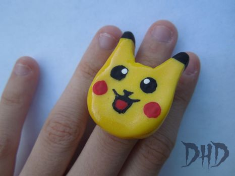 Pikachu Ring by 3Alice3