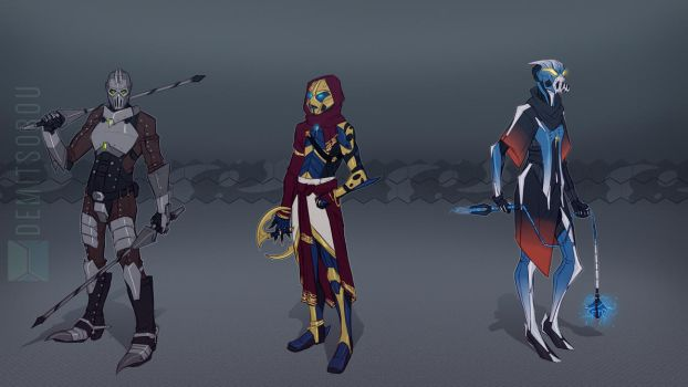 Toa Collection: Gelu's Team by Demitsorou