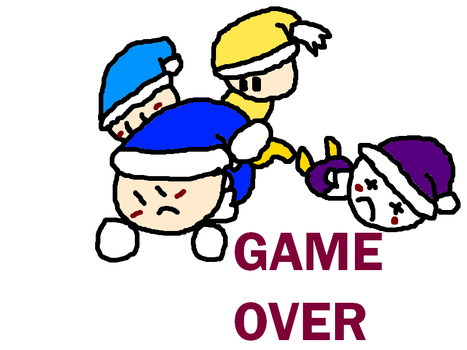 Poppy Bros. GAME OVER by AreYouWithTheCensus