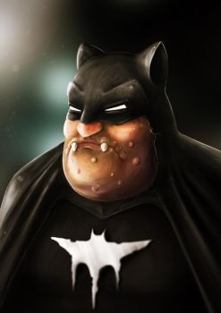 Monster Batman by met-out