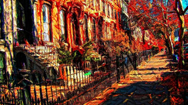Brownstones by vin113