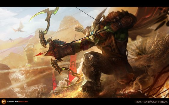 Onslaught by TamplierPainter