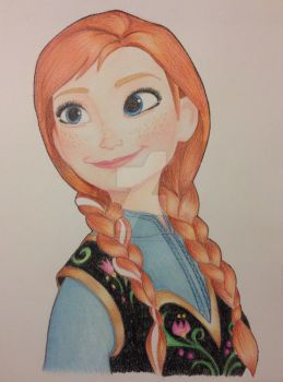 Frozen Anna of Arendale by GilmoreFriends