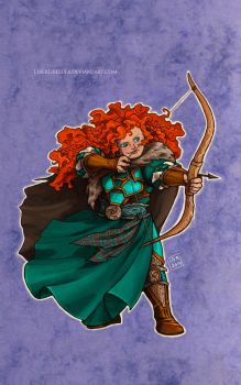 Disney meets Warcraft - Merida by LiberLibelula