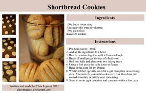 Shortbread Cookies Recipe by claremanson