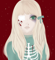 Rotting Blonde by Frilly-Socks