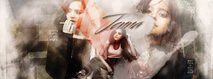 Cover - Jenna Coleman by katastrophyc-s