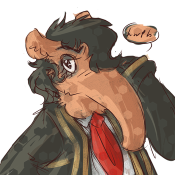 Anteater bro by HearTheVoices