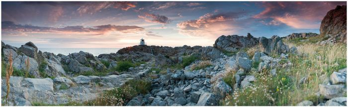 Kullen lighthouse pan by Dreammastr