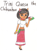 The Clever Belovers - Trini Quesa the Chihuahua by Magic-Kristina-KW