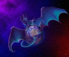 The blue planet by Leundra