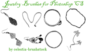 Jewelry Brushes by celestia-brushstock