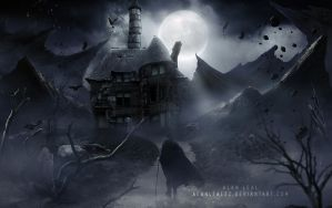 Haunted House of William Livingstone by alanleal22