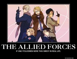 The Allied Forces by LeLeekSpinner13
