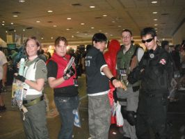 Resident Evil cosplays 1 by TifaHeartilly78