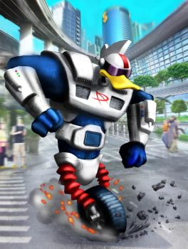 Gizmoduck by gbrsou