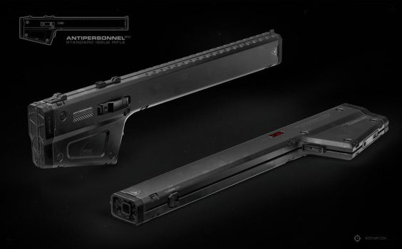 ANTIPERSONNEL Rifle by moth3R