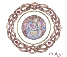 Mother's Love Knotwork by Spiralpathdesigns