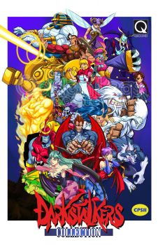 Darkstalkers lo flyer free by Shayeragal