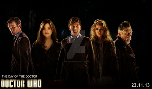 Doctor Who - The Day Of The Doctor - Poster #1 by feel-inspired