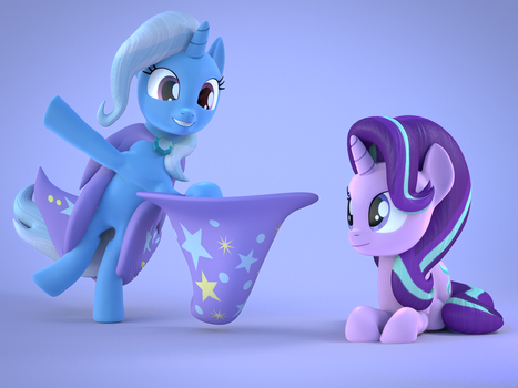 [Blender] Wanna See a Magic Trick? by MythicSpeed