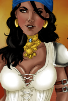 Isabela - Colored by i-gomes