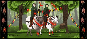 [Collab] The Bokkenrijders by Chesterclaw