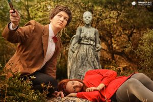 Doctor Who: Weeping Angel by Roy-Ba