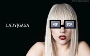 Lady Gaga TV Glasses WP by KeybladeMeister