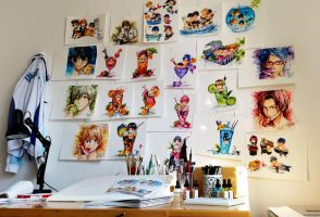 My Wall of Free! by Naschi