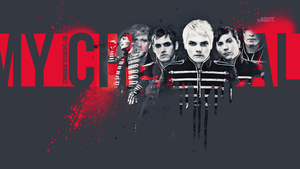 welcome to the black parade_wallpaper by aquite