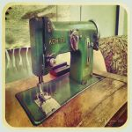 Old sewing machine by Pajunen