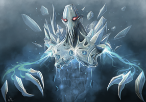 Dota 2- Ancient Apparition by MrScrake
