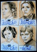Star Wars Sketchagraphs by sarahwilkinson