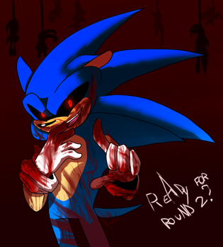 Sonic.exe by frandlle