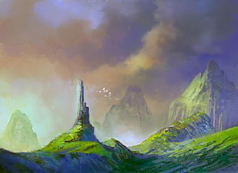 The last tower by elbardo