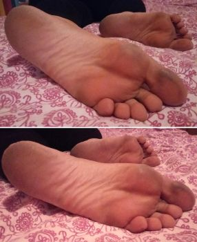 Candid Sleepy Soles by Whor4cle