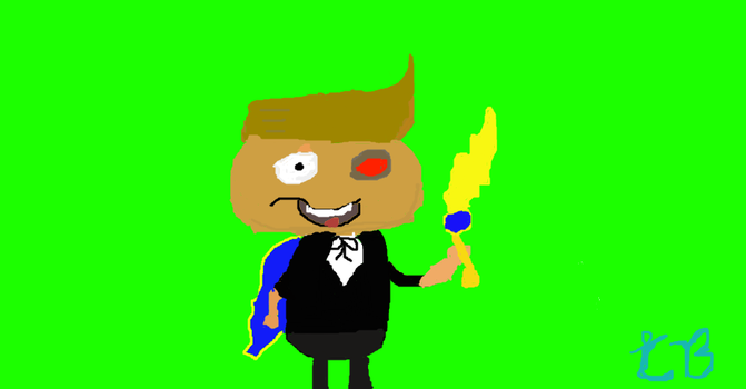 My Poptropican (Not in Pixel Art this time!) by CuddlyBrainMakesArt