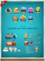Artbees Button Pack by artbees