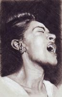 Billie Holiday by raffaello