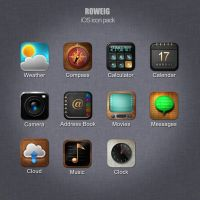 iOS icon pack by roweig
