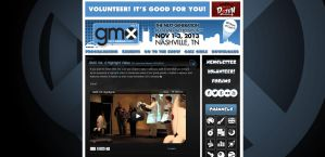 Geek Media Expo Vol. 5 Website by miluette